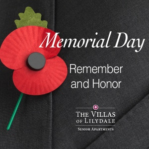 Memorial Day, Villas of Lilydale Senior Living, Lilydale, MN