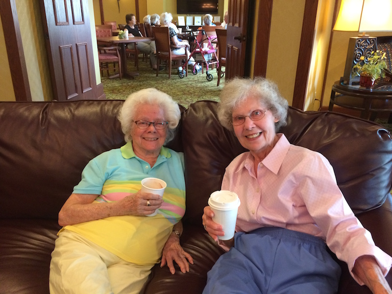 Coffee, Hot Chocolate, Conversation, Villas of Lilydale Senior Living, Lilydale, MN