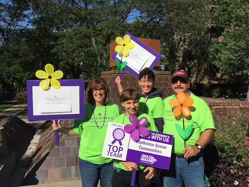 Walk to End Alzheimer's, Villas of Lilydale Senior Living, Lilydale, MN