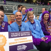 2016 twin cities walk to end alzheimers, villas of lilydale senior living