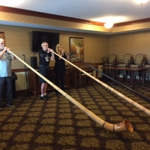 Alphorn Performance-Villas of Lilydale-retired and current MN Orchestra performers