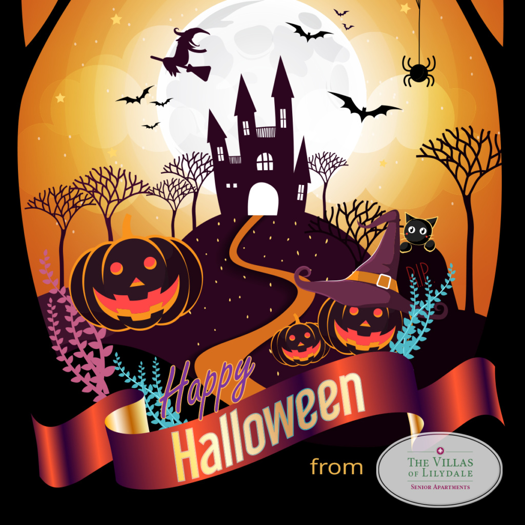 Happy Halloween-Villas of Lilydale